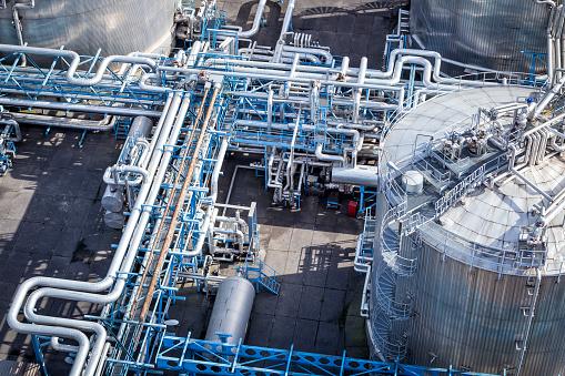 Chemical「Steel pipelines in the Refinery」:スマホ壁紙(13)