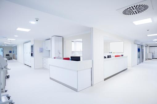 Medical Clinic「Hospital corridor」:スマホ壁紙(6)