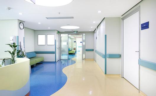 Medical Clinic「Hospital corridor」:スマホ壁紙(15)