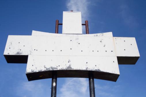 Motel Sign「Blank Retro Sign」:スマホ壁紙(12)