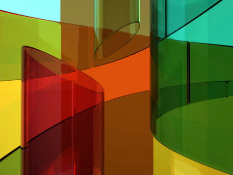 Color Image「Abstract glassy background」:スマホ壁紙(19)