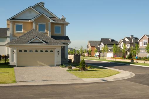 Cityscape「Few brand new suburban houses.」:スマホ壁紙(6)