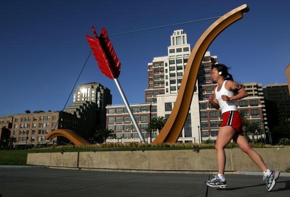 San Francisco-Oakland Bay Bridge「San Francisco Named Best City For Jogging」:写真・画像(14)[壁紙.com]