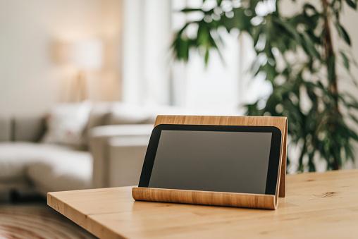 Digital Tablet「Rack with tablet on tabletop」:スマホ壁紙(4)
