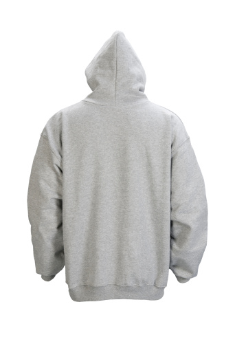 Sweatshirt「Gray, blank hooded sweatshirt back-isolated on white w/clipping path」:スマホ壁紙(19)