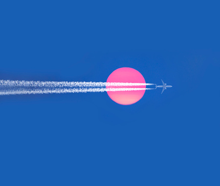 Mid-Air「Commercial passenger plane in flight.」:スマホ壁紙(6)