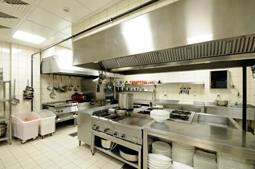 Cafeteria「Commercial Kitchen」:スマホ壁紙(12)