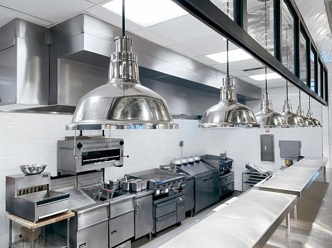 Steel「Commercial kitchen」:スマホ壁紙(4)