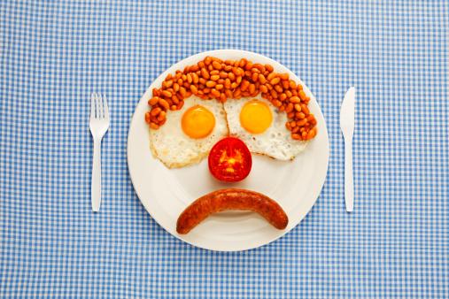 Breakfast「An unhappy fast-food breakfast」:スマホ壁紙(10)
