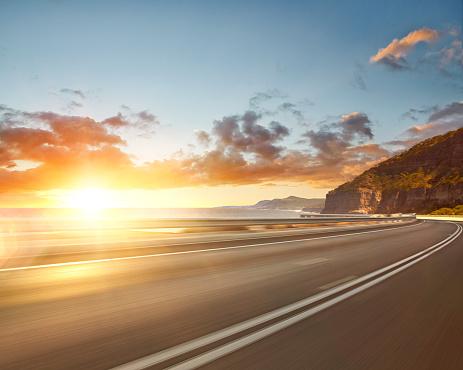 Curve「Beach road」:スマホ壁紙(19)