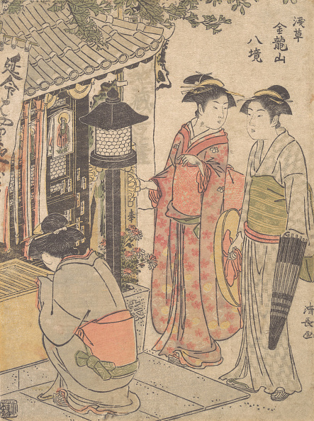 Architectural Feature「Enmei Jizo. Creator: Torii Kiyonaga.」:写真・画像(2)[壁紙.com]