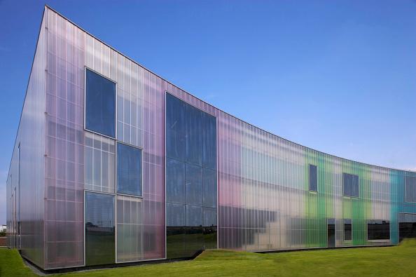 Vitality「Exterior front view of Laban dance centre, Deptford, London, UK」:写真・画像(7)[壁紙.com]