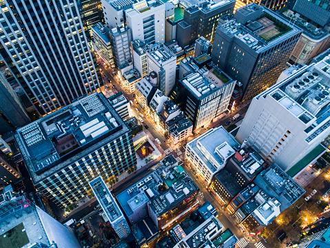 Tokyo - Japan「The aerial view of skyscraper」:スマホ壁紙(0)