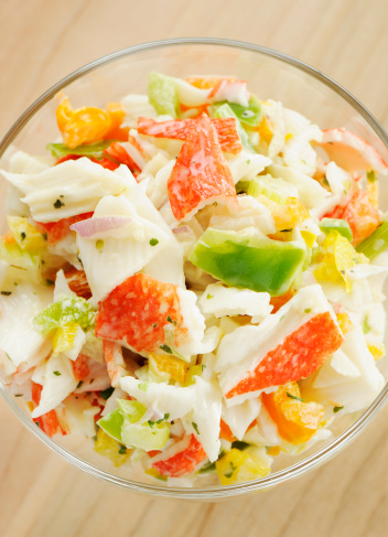Pollock - Fish「Seafood salad」:スマホ壁紙(12)