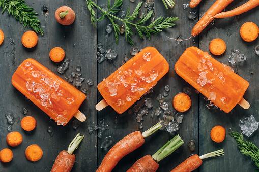 Dessert「Carrot ice popsicles」:スマホ壁紙(10)