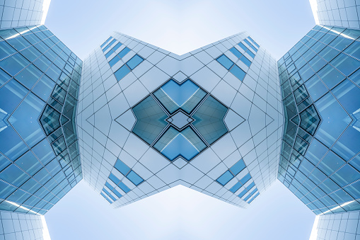 Digital Composite「Impossible kaleidoscope architecture」:スマホ壁紙(2)