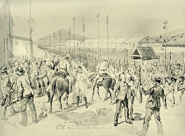 1900「The Occupation Of Pretoria: Release Of British Officers」:写真・画像(15)[壁紙.com]