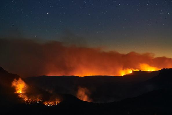 Flame「World Heritage Area Under Threat As Bushfires Burn Across Blue Mountains」:写真・画像(4)[壁紙.com]