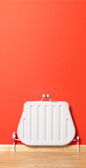 Change Purse「Upright purse shaped radiator.」:スマホ壁紙(11)