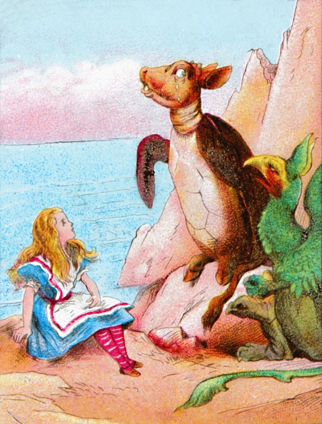 Picture Book「Very Soon They Came Upon The Gryphon」:写真・画像(15)[壁紙.com]