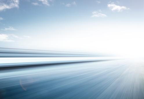 Blurred Motion「Fast Graphic Road」:スマホ壁紙(19)
