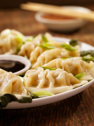 Chinese Dumpling「Steamed Dumplings」:スマホ壁紙(4)