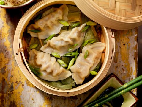 Dim Sum「Steamed Dumplings」:スマホ壁紙(12)
