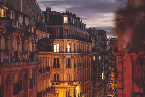 Capital - Architectural Feature「Autumn in Paris」:スマホ壁紙(19)