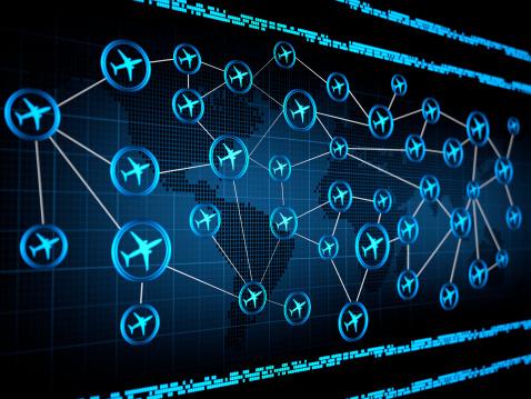 Commercial Airplane「Air traffic」:スマホ壁紙(2)