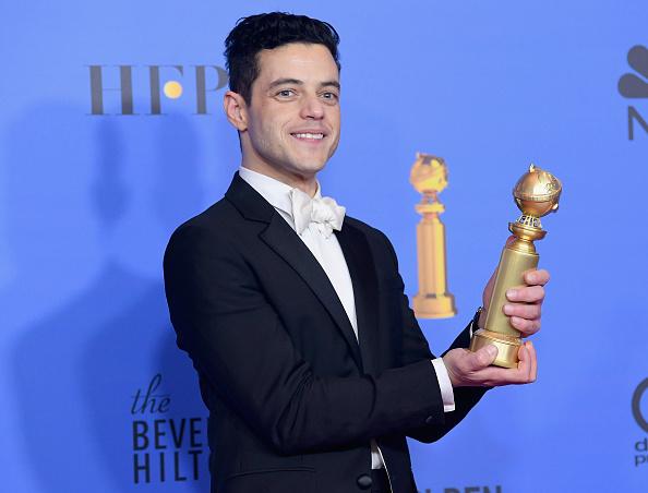 Golden Globe Award trophy「76th Annual Golden Globe Awards - Press Room」:写真・画像(15)[壁紙.com]
