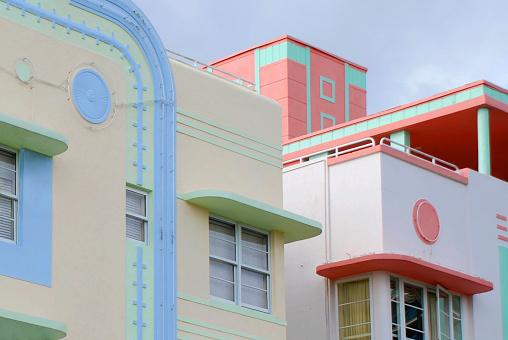Caribbean「Ocean Drive's Art Deco」:スマホ壁紙(4)