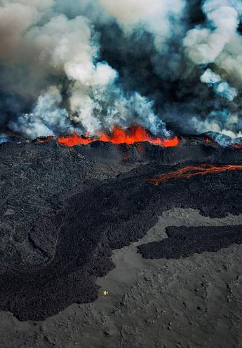 Active Volcano「Eruption, Holuhraun, Bardarbunga Volcano, Iceland」:スマホ壁紙(16)