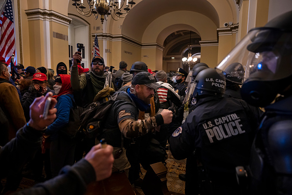 """Capitol Hill「Trump Supporters Hold """"Stop The Steal"""" Rally In DC Amid Ratification Of Presidential Election」:写真・画像(15)[壁紙.com]"""