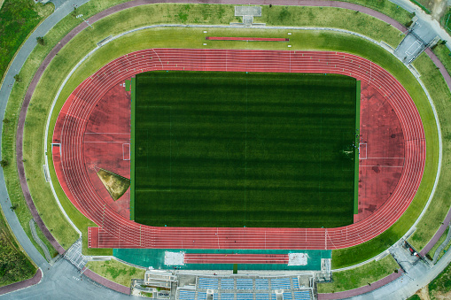 Aerial View「The drones' viewpoint of the stadium.」:スマホ壁紙(11)