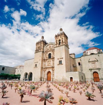 Mexico「Santo Domingo church exterior」:スマホ壁紙(14)