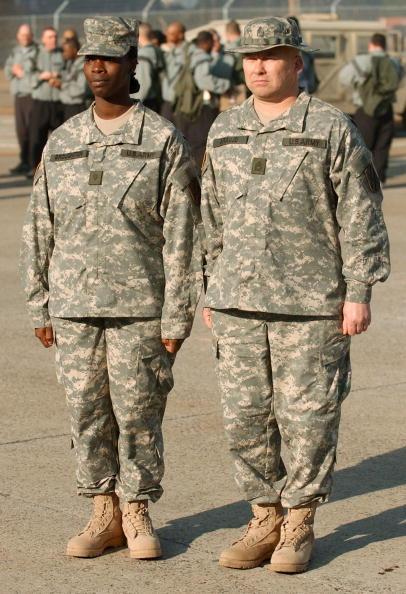 Daniel Gi「New Army Combat Uniform Debuts At Fort Stewart」:写真・画像(5)[壁紙.com]