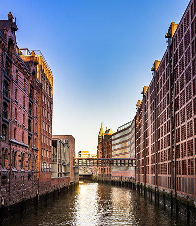 National Landmark「Speicherstadt Hamburg」:スマホ壁紙(17)
