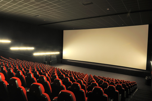 Projection Screen「Empty movie theather」:スマホ壁紙(12)