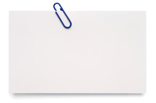 Adhesive Note「White blank index card」:スマホ壁紙(0)