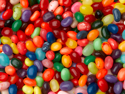 Gummi candy「Jelly Beans」:スマホ壁紙(19)