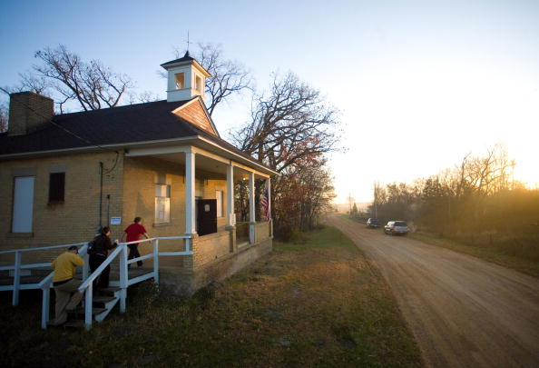 Rural Scene「Americans Go To The Polls To Elect The Next U.S. President」:写真・画像(0)[壁紙.com]