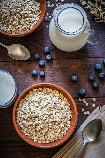 Gourmet「Oat flakes breakfast」:スマホ壁紙(7)