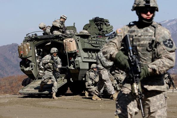 Military「U.S. And South Korea Forces Undergo Military Exercises」:写真・画像(10)[壁紙.com]