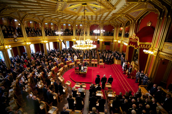 Politics「Opening Of The 156th Storting in Oslo」:写真・画像(12)[壁紙.com]