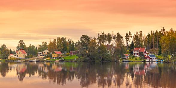 Swedish Culture「Country village」:スマホ壁紙(10)