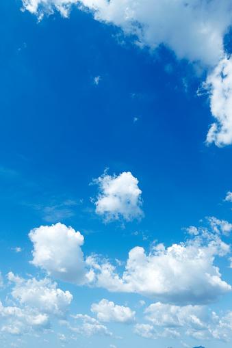 Cloud - Sky「Blue Sky and Clouds」:スマホ壁紙(18)