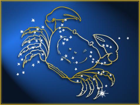 Digital Composite「Cancer astrological sign」:スマホ壁紙(5)