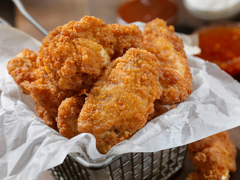 Chicken Wing「Spicy Buffalo Wings with Dipping Sauces」:スマホ壁紙(13)
