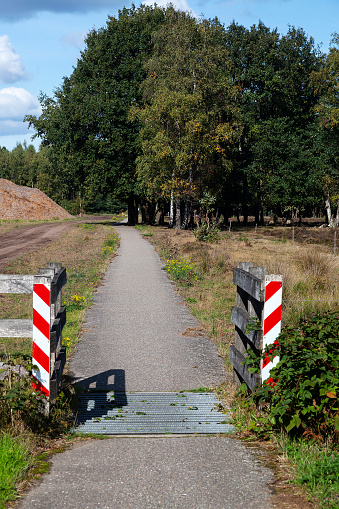 North Brabant「Cattle grid in cycling path」:スマホ壁紙(3)
