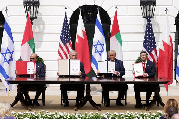 United Arab Emirates「President Trump Hosts Abraham Accords Signing Ceremony On White House South Lawn」:写真・画像(3)[壁紙.com]